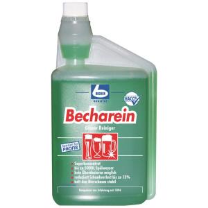 Dr.Becher Becharein Gläserreiniger mit Dosierflasche 1l