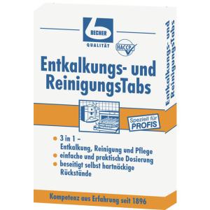 Dr.Becher Entkalkungs- und ReinigungsTabs 8 Stück