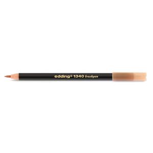 edding 1340 brush pen Pinselmaler - hellorange