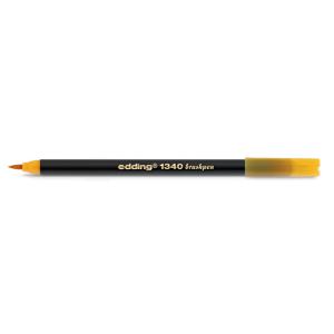 edding 1340 brush pen Pinselmaler - papaya