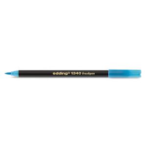 edding 1340 brush pen Pinselmaler - azurblau