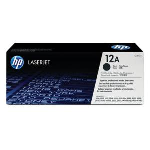 HP 12A Original Lasertoner - black