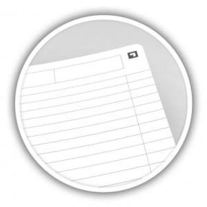 Oxford Collegeblock - DIN A4 - liniert - 90 Blatt - gelocht