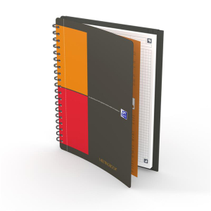 Oxford Meetingbook Connect - DIN B5 - kariert - 80 Blatt
