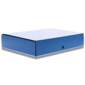 ELBA Sammelbox colors, 6cm, A4, blau