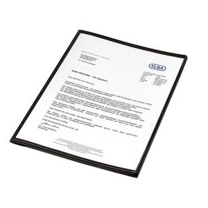 Oxford Angebotsmappe image+, A4, ca. 50 Blatt, schwarz