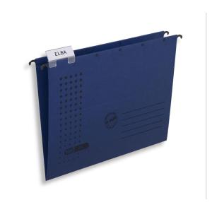 ELBA Hängemappe chic ULTIMATE, A4 dunkelblau, 5er-Pack