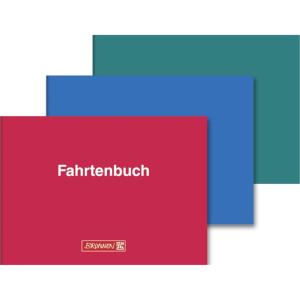 Brunnen Fahrtenbuch f. Kfz, A6 quer, 40 Bl, Karton-Einband