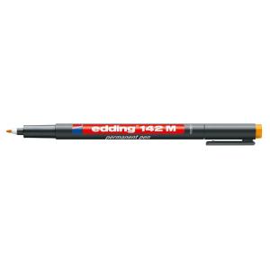 edding 142 M permanent pen Folienschreiber - 1 mm - orange