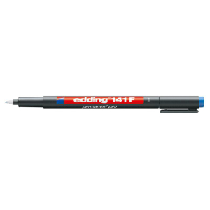 edding 141 F permanent pen Folienschreiber - 0,6 mm - blau