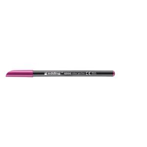 edding 1200 colour pen fine Fasermaler - 1 mm - rotviolett