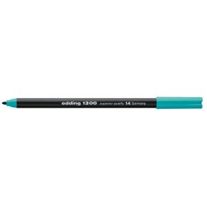 edding 1300 colour pen Fasermaler - 2 mm - türkis