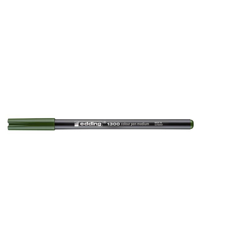 Edding 1300 grau Fasermaler Color Pen