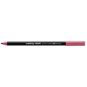 edding 1300 colour pen Fasermaler - 2 mm - rosarot