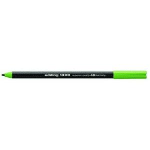 edding 1300 colour pen Fasermaler - 2 mm - blattgrün