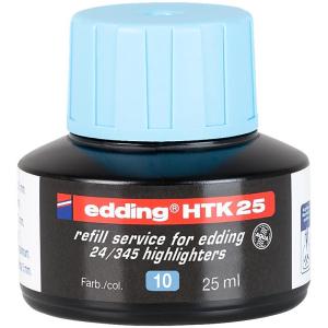 edding HTK25 Nachfülltinte Textmarker - hellblau -...