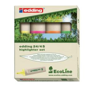 edding 24 EcoLine Textmarker - Keilspitze - 2-5 mm -...