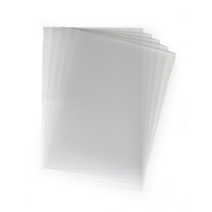 Durable Einbanddeckel BINDING COVERS DIN A4, transparent...