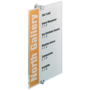 Durable Türschilder CRYSTAL SIGN, 21,0x29,7cm