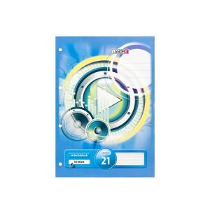 Landré Arbeitsblock - DIN A4 - Lineatur 21 - 50 Blatt