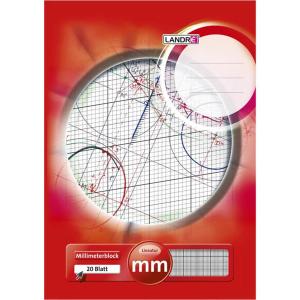 Landré Millimeterblock - DIN A3 - 20 Blatt