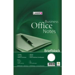 Landré Briefblock Office A4, 50 Blatt, 70...