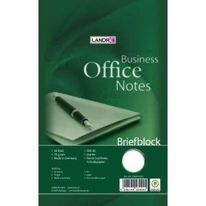 Landré Briefblock A5 WORK 50Bl blanko