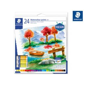 STAEDTLER 8880 Aquarellfarben - 24 Tuben je 12 ml