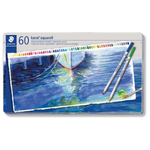 STAEDTLER karat aquarell 125 - Aquarellfarbstift - 60er...