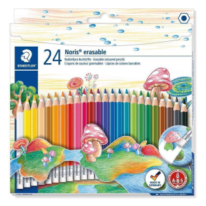 Staedtler Farbstift Noris Club radierbar 24St