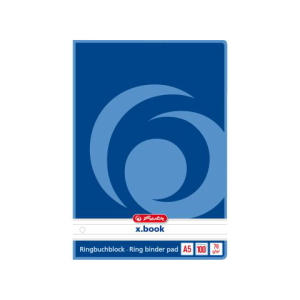 herlitz Ringbuchblock - 70 g/m² - DIN A5 - liniert -...