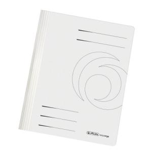 herlitz Schnellhefter - DIN A4 - Manila-Karton - weiß