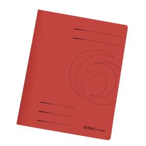 herlitz Schnellhefter - DIN A4 - Manila-Karton - rot