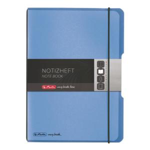 herlitz my.book flex Notizheft - DIN A5 - blau - kariert...