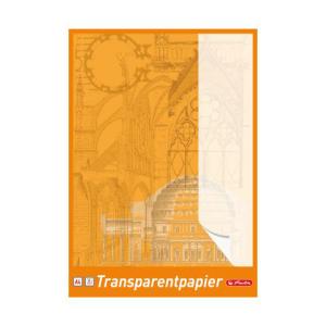 herlitz Transparentpapierblock - DIN A4  - 30 Blatt