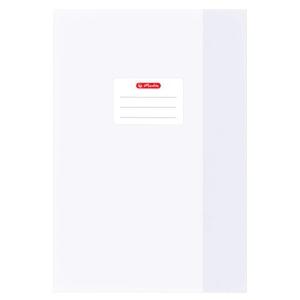 herlitz Hefthülle - DIN A4 - Baststruktur - weiß