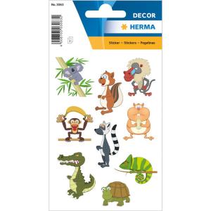 Herma 3063 DECOR Sticker - Zoo-linge - 27 Sticker