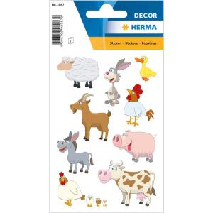 Herma 3067 DECOR Sticker - Lieblingstiere - 27 Sticker