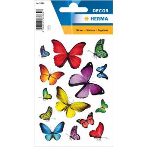 Herma 3084 DECOR Sticker - Schmetterlingsvielfalt - 42...