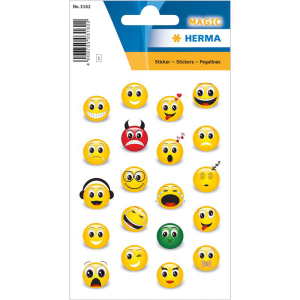Herma 3162 MAGIC Sticker - Emojis - 20 Sticker