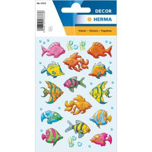 Herma 3333 DECOR Sticker - Fische - 42 Sticker