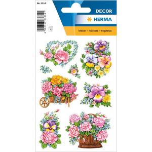 Herma 3354 DECOR Sticker - nostalgische Blumentöpfe...