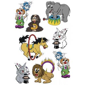 Herma 3404 DECOR Sticker - Zirkus