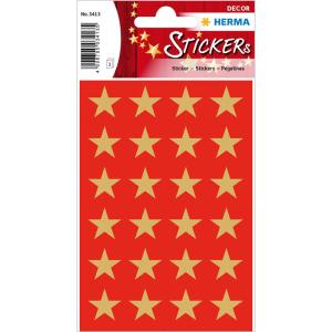 Herma 3413 DECOR Sticker - Sterne - fünfzackig -...