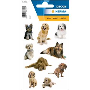 Herma 3432 DECOR Sticker - Hundefotos - 27 Sticker