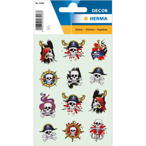 Herma 3448 DECOR Sticker - Piraten I
