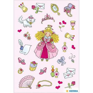 Herma 3453 DECOR Sticker - Prinzessinnen I - 78 Sticker