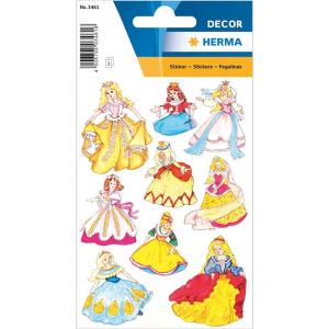 Herma 3461 DECOR Sticker - Prinzessin - 27 Sticker