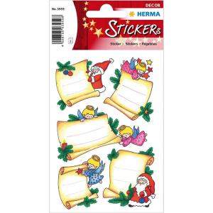 Herma 3959 DECOR Sticker - Weihnachtsbriefe - beglimmert...
