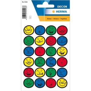 Herma 5426 DECOR Sticker - Gesichter - 72 Sticker